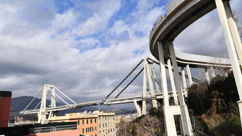 En août dernier, l'effondrement du viaduc de Gênes avait fait 43 morts.