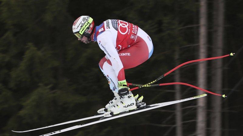 Ski alpin: les Suisses discrets lors de l'entraînement de descente à Garmisch