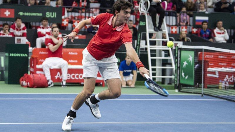 Tennis - Coupe Davis: la Suisse est menée 2-0 par la Russie après les deux premiers simples