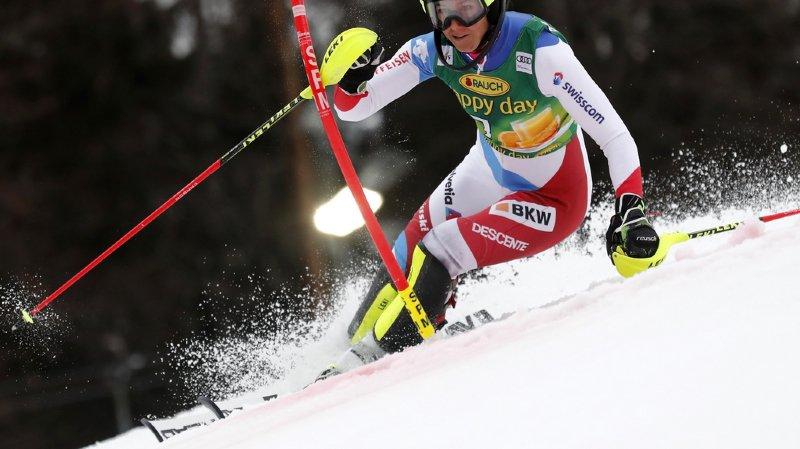 Ski alpin: Holdener 6e après la première manche du slalom de Maribor, dominée par Shiffrin
