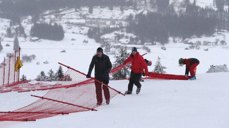 Ski alpin: le géant de Garmisch aussi annulé à cause des chutes de neige