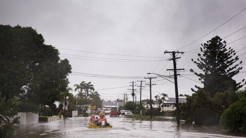 Le nord-est de l'Australie frappé par des pluies exceptionnelles