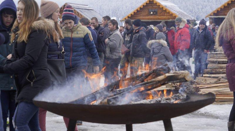 Neuchâtel: entre 5000 et 6000 personnes à la 8e Fête du Froid à La Brévine
