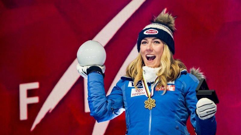 Mikaela Shiffrin a remporté ce mardi la médaille d'or au Super-G des Mondiaux d'Are.