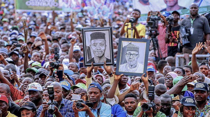 La bousculade est survenue à la fin du meeting du président Muhammadu Buhari à Port-Harcourt, dans le sud-est du Nigeria.