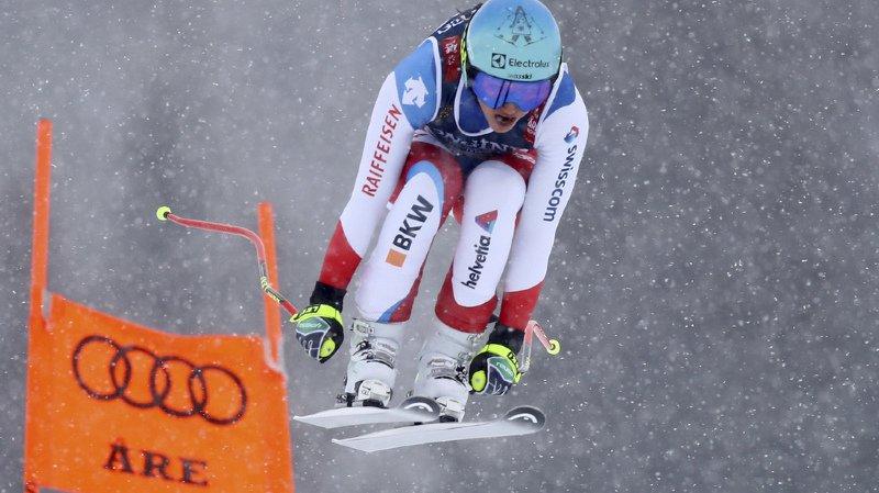 Ski alpin - Mondiaux d'Are: bien placée après la descente du combiné, Holdener peut viser l'or