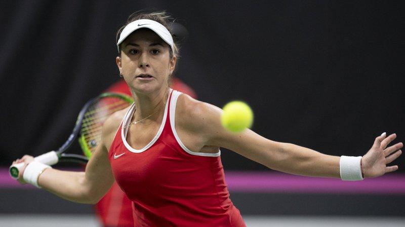 Tennis - FedCup: Belinda Bencic offre le premier point à la Suisse contre l'Italie
