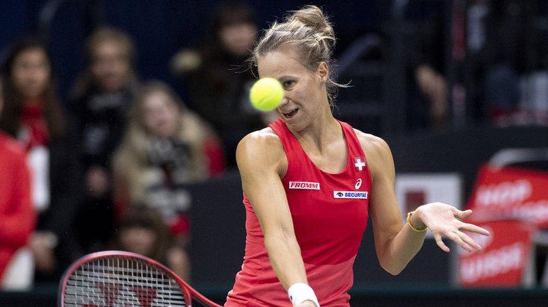 La Suissesse Viktorija Golubic a battu l'Italienne Camila Giorgi 6-4 2-6 6-4 ce samedi.