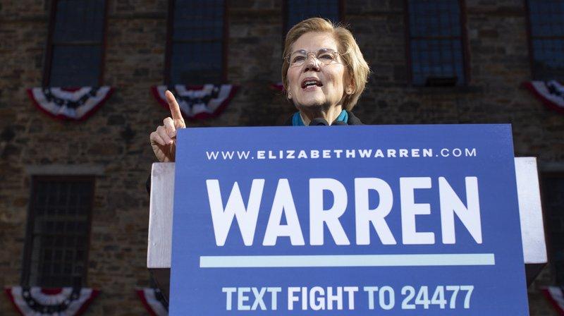 États-Unis: la sénatrice démocrate Elizabeth Warren officialise sa candidature à la présidentielle de 2020