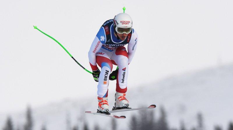 Carlo Janka se retrouve à la 7e place après la descente du combiné.