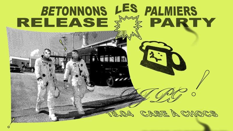 DJ PG - Bétonnons les palmiers // Release party