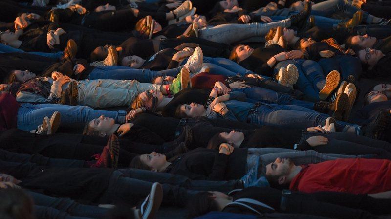 La Chaux-de-Fonds: 250 lycéens chantent aux Anciens abattoirs