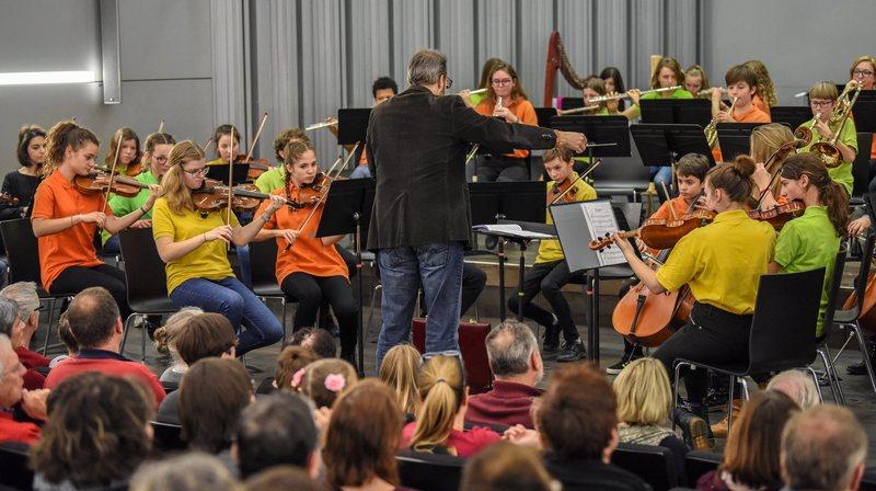 L'Orchestre des jeunes du Conservatoire neuchâtelois a traversé le temps