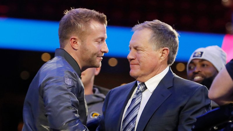 Sean McVay et Bill Belichick se respectent et s'apprécient.