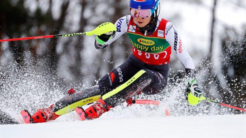 Mikaela Shiffrin peut espérer remporter quatre médailles en Suède.