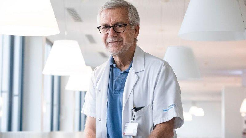 Alain Sauty, pneumologue spécialiste de mucoviscidose adulte, a développé la consultation de l'HNE depuis son arrivée en 2018.