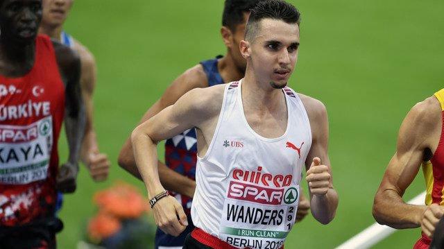 Julien Wanders, ici lors de la Course de l'escalade à Genève, le 2décembre dernier.