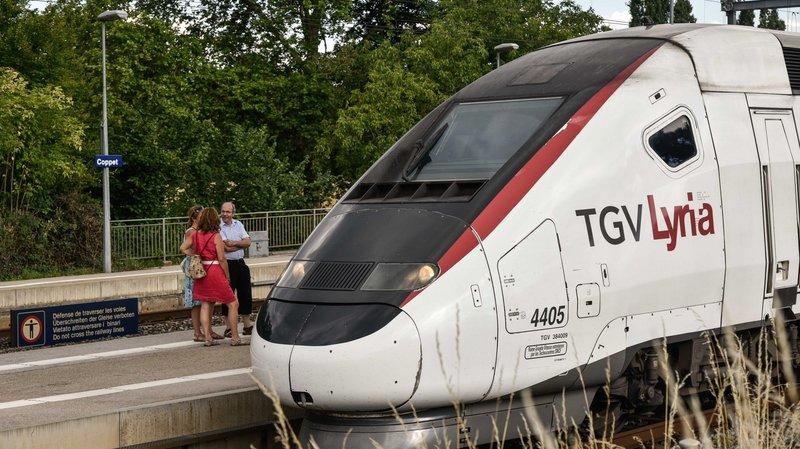 Lyria veut réduire les TGV via Frasne, la résistance s'organise aussi en Suisse
