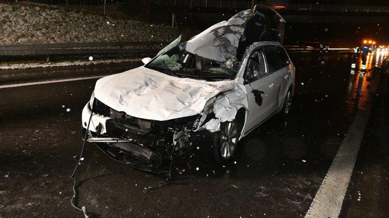 Schwyz: collision entre une voiture et des chevaux sur l'A3, un mort