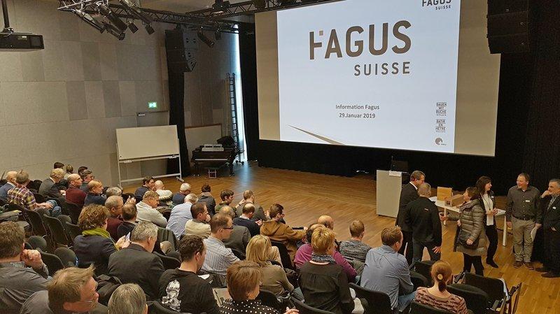 Récemment à Strate J, à Delémont, la start-up Fagus Suisse SA présentait ses projets breulotiers à des actionnaires et des journalistes.