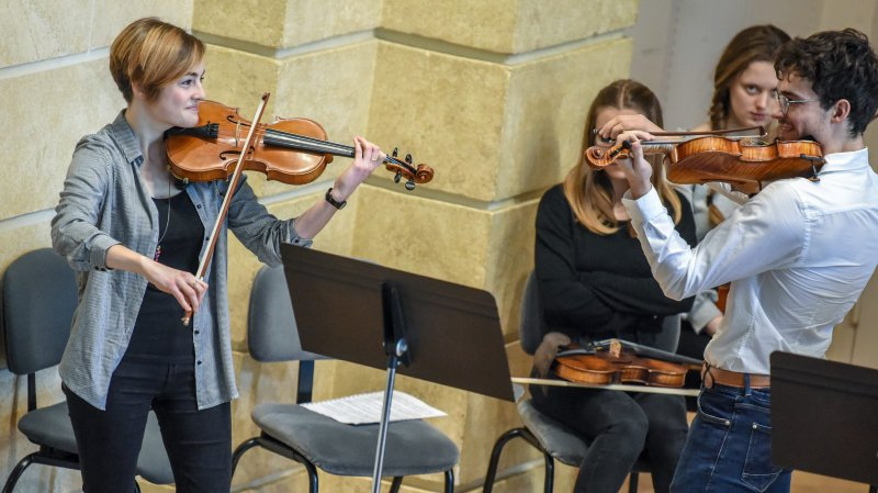 Conservatoire neuchâtelois: Ils croquent la musique à pleines dents