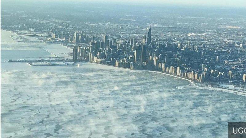 Etats-Unis: la vague de froid polaire a fait déjà 12 morts