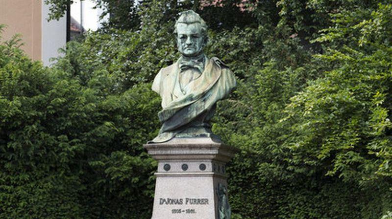 Né en 1805 à Winterthour, Jonas Furrer est décédé en 1861, alors qu'il était encore en fonction.
