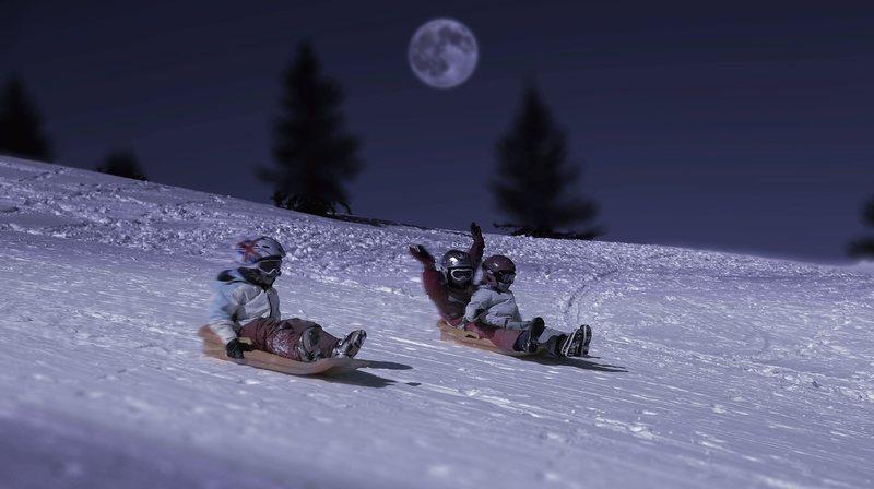 A ski, a snowboard ou en bob, chacun pourra dévaler la pente enneigée.