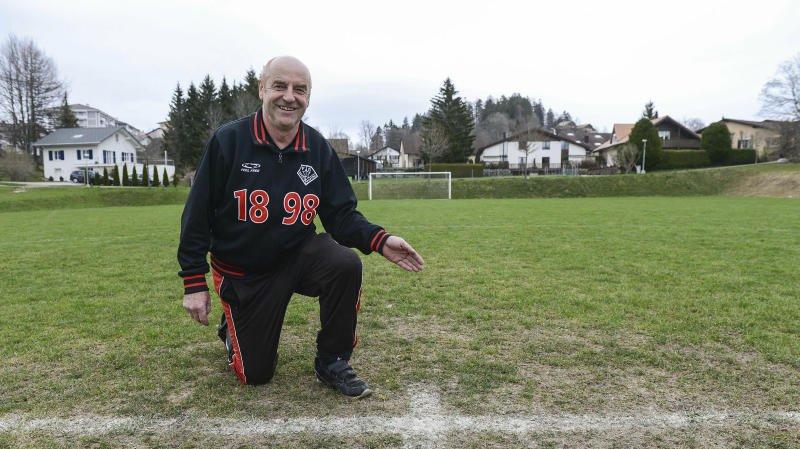 Gérard Prétôt, le président du FC Etoile-Sporting, locataire des installations des Foulets.