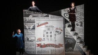 «Le journal d'Anne Frank» au théâtre du Pommier de Neuchâtel