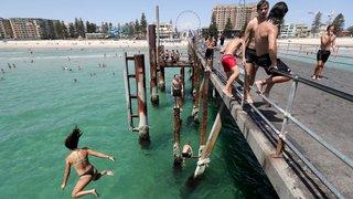 Australie: records de chaleur etbièresgratuites
