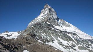Valais: un alpiniste britannique se tue au Cervin