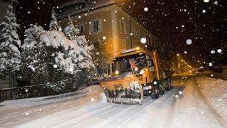 Moins de neige mais deux fois plus de sel: l'hiver coûte toujours aussi cher aux Montagnes