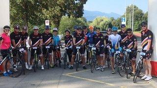 Vélothon du Rotary: pédaler pour aider des victimes à remarcher