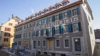 Le Locle: portes ouvertes au chantier de l'hôtel de la Fleur de Lis