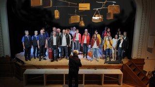 «Bouge de là!», un spectacle en chansons qui parle de l'exil et de l'émigration à Saignelégier