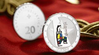 Trois nouvelles monnaies commémoratives suisses: Knie, bateau à vapeur et chevreuil à l'honneur