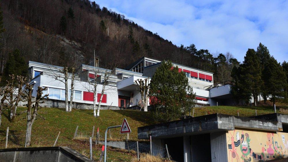 L'école secondaire de Saint-Imier.