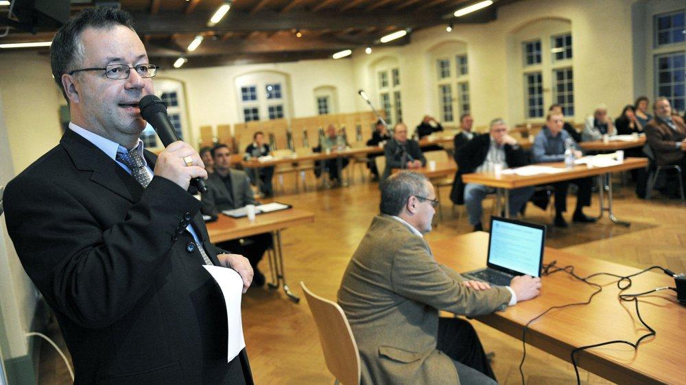 Michel Veillard mettra un terme à son mandat de conseiller communal de Cressier en juin prochain.