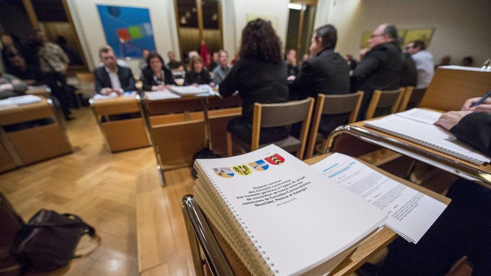 En février 2016, le Conseil général de Peseux acceptait la convention de fusion avec Neuchâtel, Corcelles-Cormondrèche et Valangin.