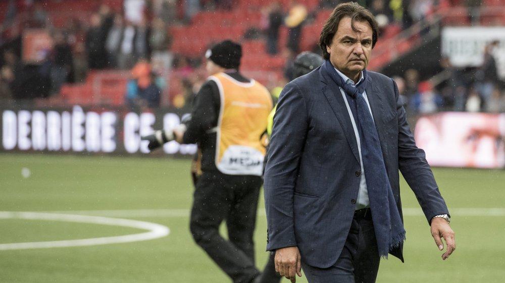 Christian Constantin est très attaché au FC La Chaux-de-Fonds.
