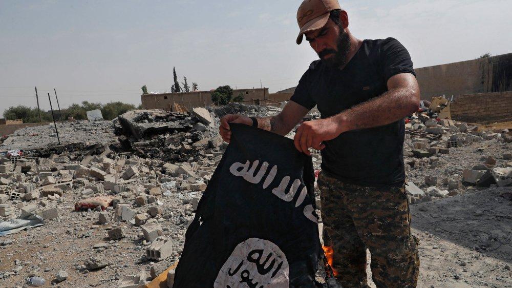 D'après Jean-Paul Rouiller, le fort recul du groupe Etat islamique sur le terrain (photo), les politiques de prévention et la coordination entre les différents pays européens ont permis d'empêcher de nombreux départs au djihad.