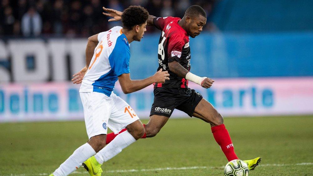 Geoffroy Serey Die devance Anthony Goelzer. L'Ivoirien a inscrit le seul but du match.