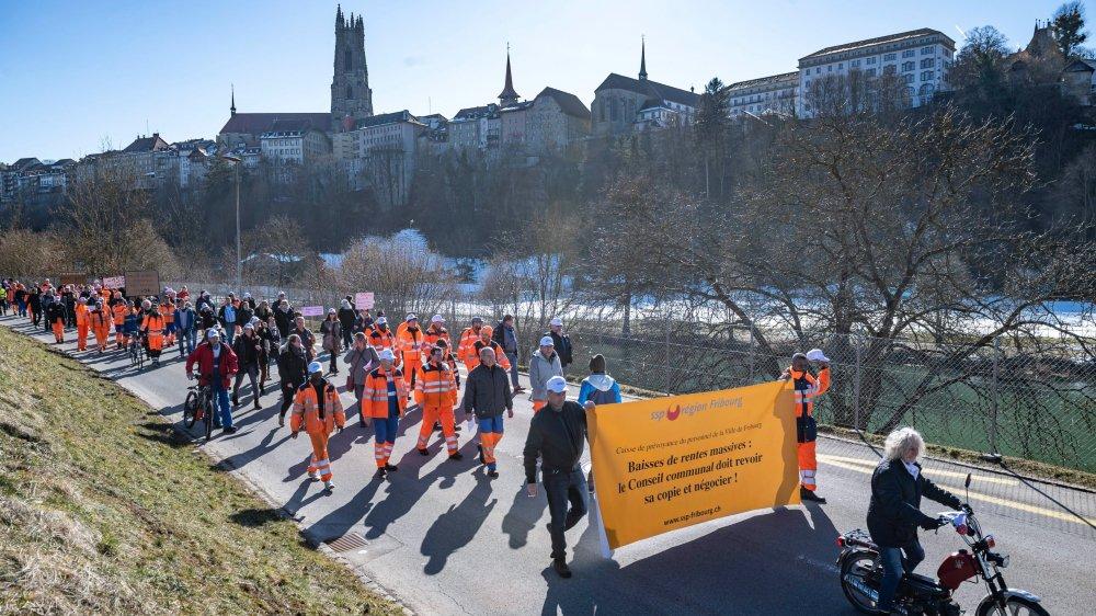 La caisse de prévoyance de la ville de Fribourg inquiète ses employés...