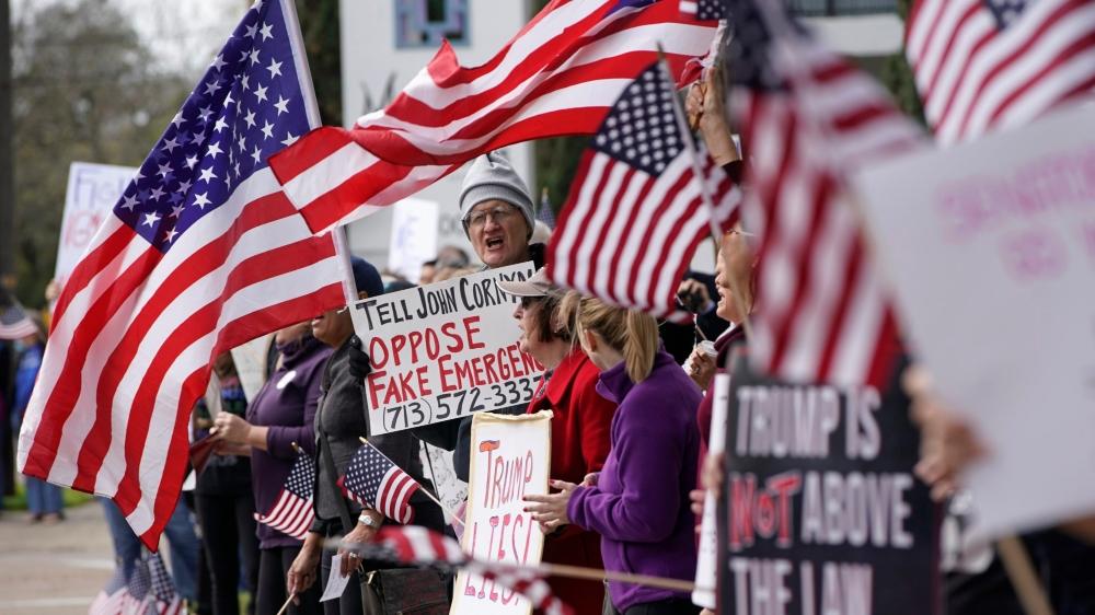 Des manifestations ont été organisées, lundi, dans l'ensemble du pays pour protester contre la politique migratoire de Donald Trump.