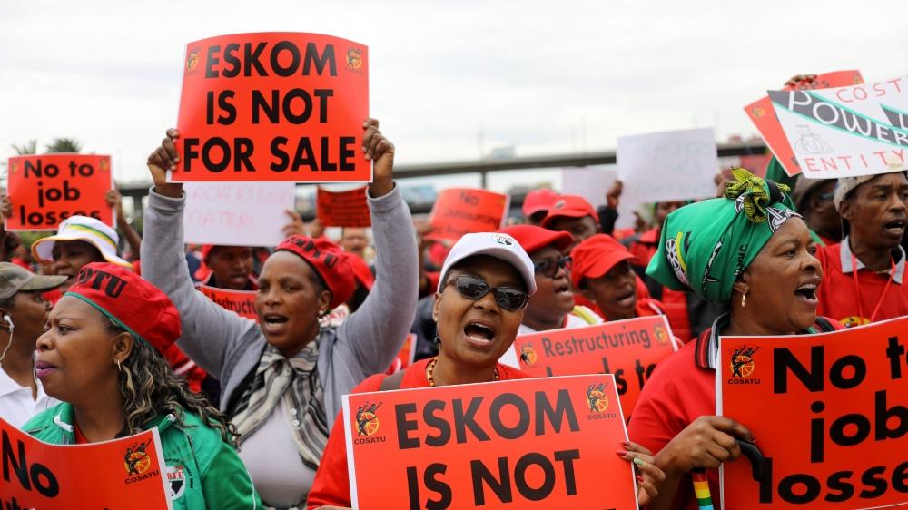 La réorganisation du géant de l'énergie Eskom, en déficit, inquiète les syndicats.