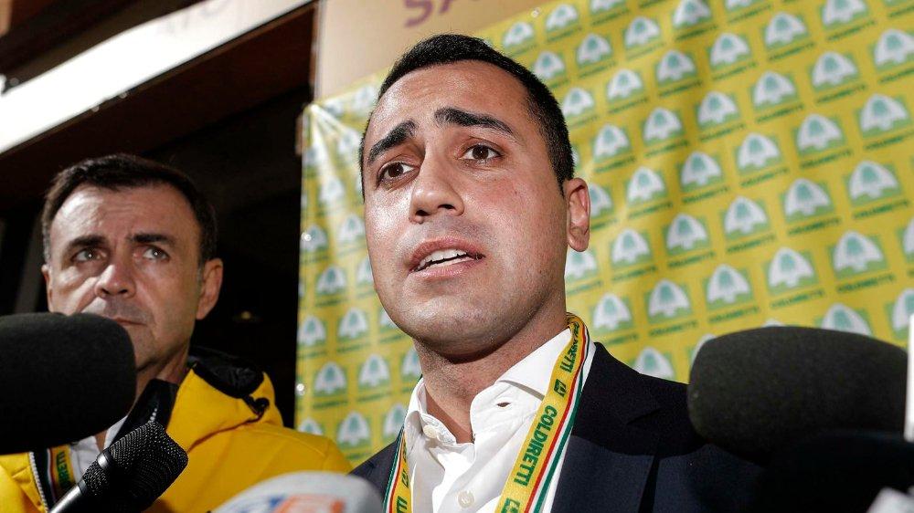 Le Mouvement 5 étoiles, le parti de Luigi Di Maio n'en mène pas large...