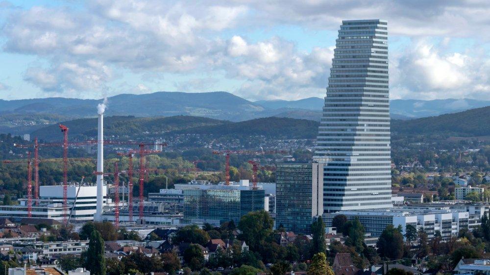 La tour Roche, à Bâle.