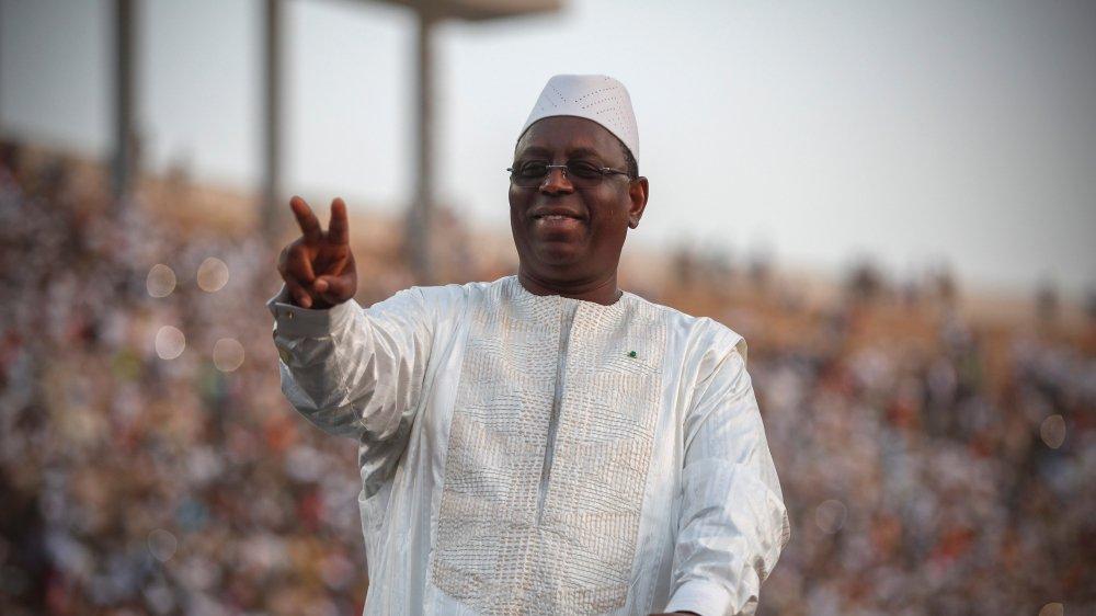Macky Sall se voit déjà président.
