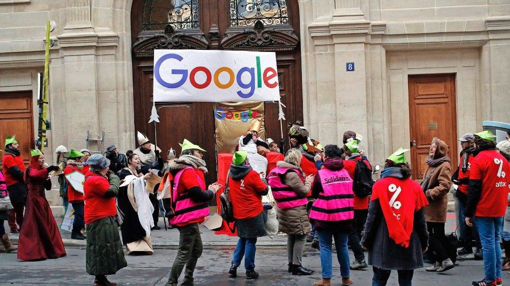 La France lance  sa taxe Google